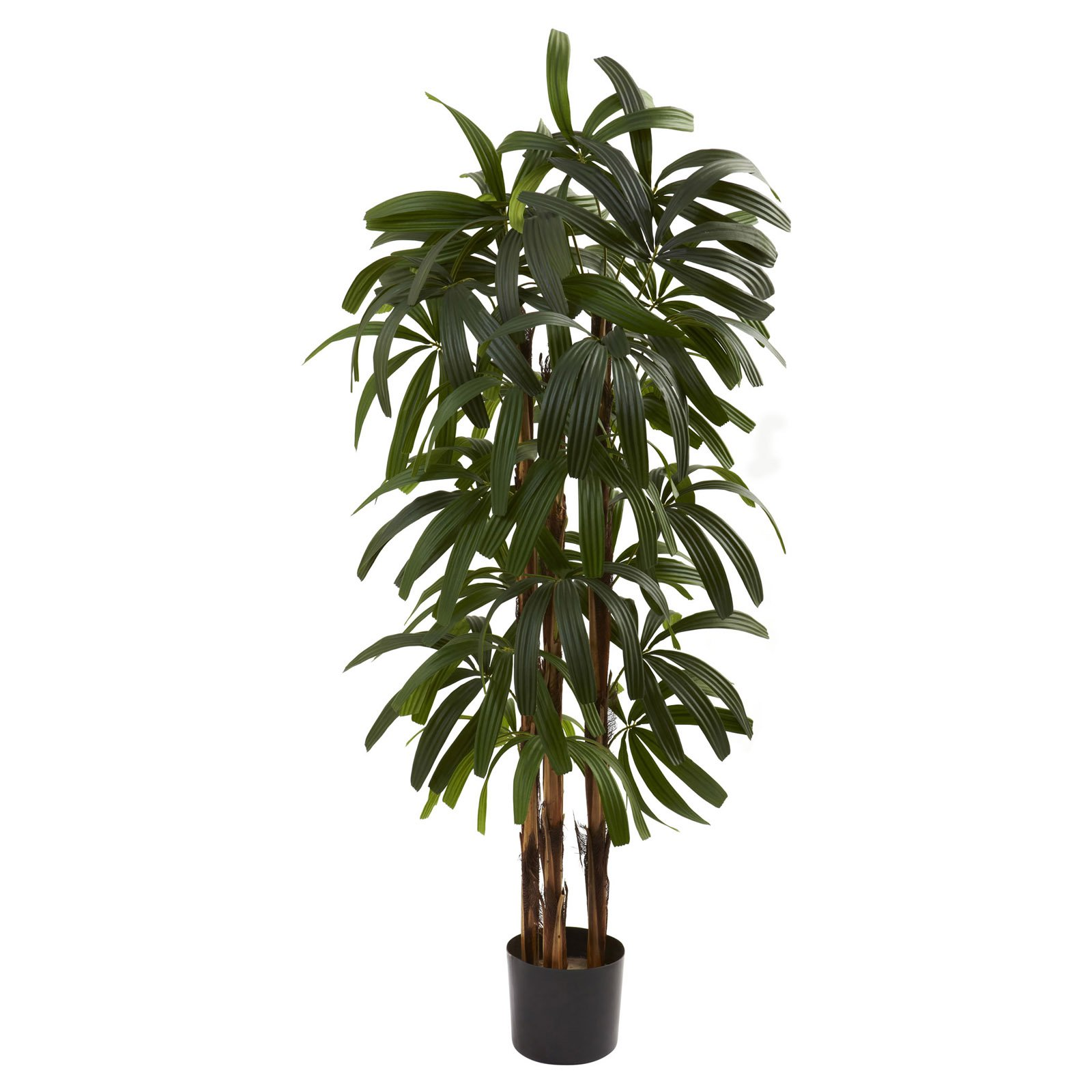 Nearly Natural 4' Raphis Palm Tree