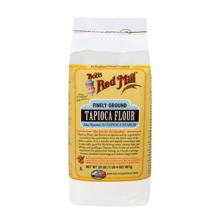 Bobs Red Mill Tapioca Flour, 20 Oz - Walmart.com