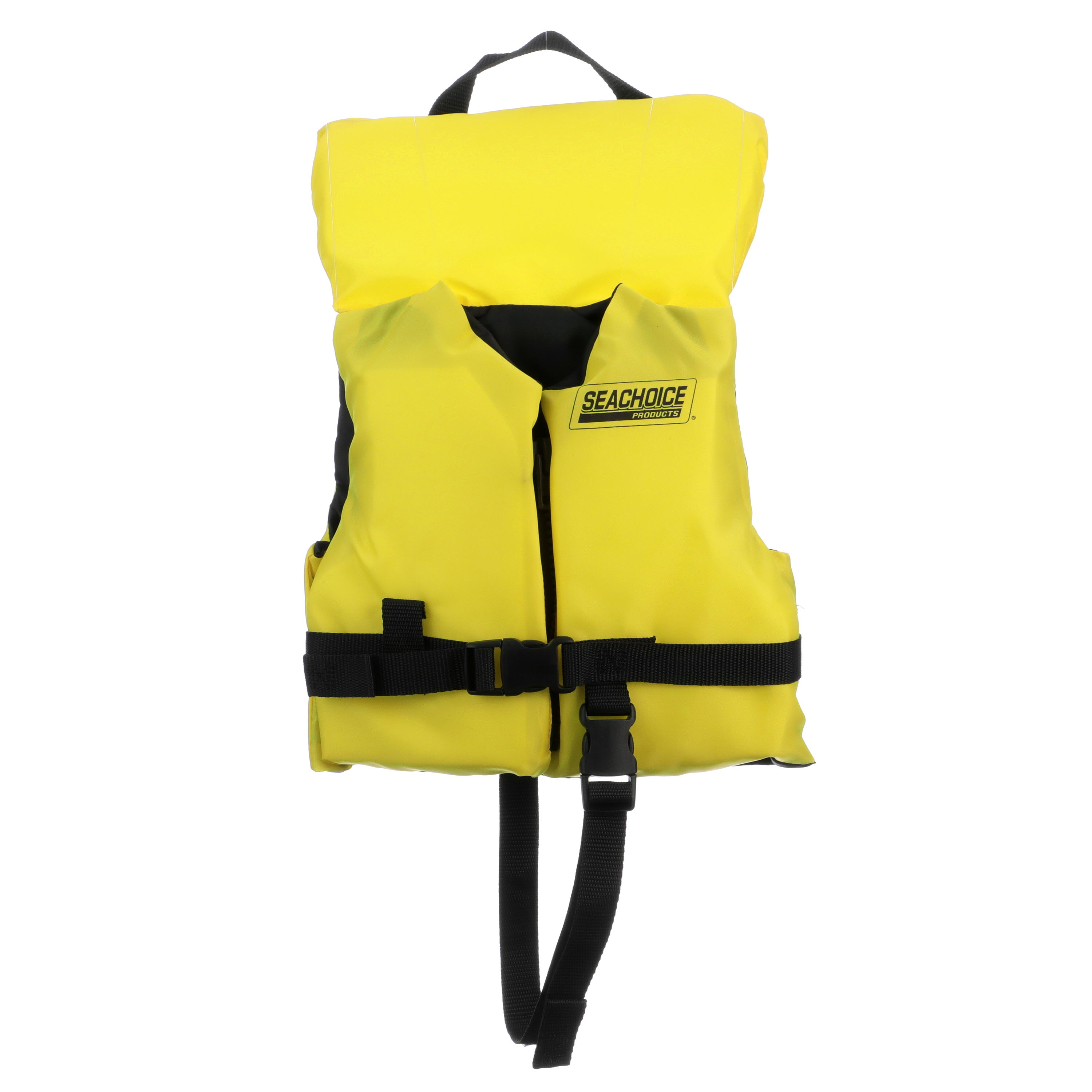 Seachoice 86500 Type Iii Life Jacket Adjustable General Purpose Vest Bright Yellow Infant Up To 30 Pounds Walmart Com Walmart Com