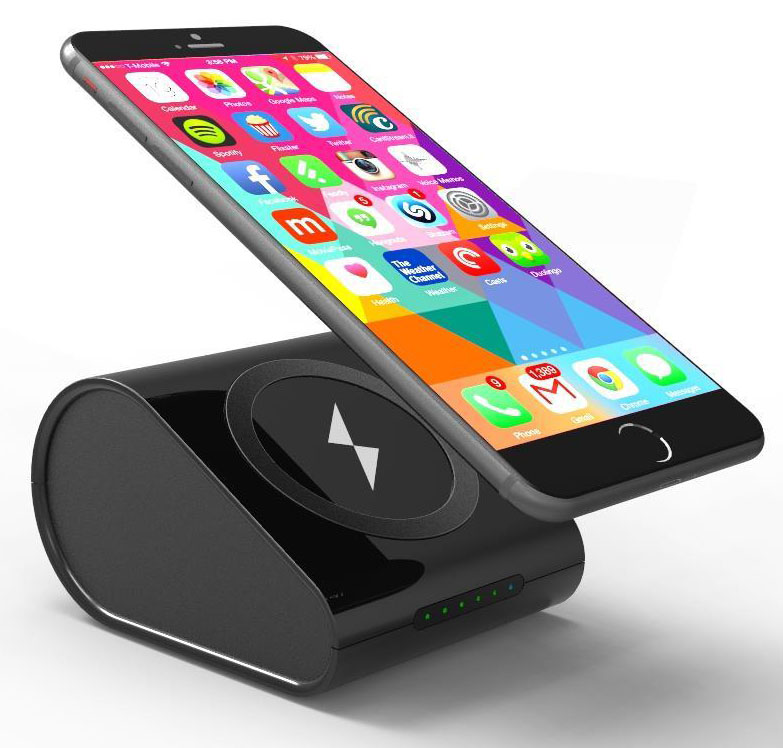 walmart iphone 5 charger black qi wireless charger pad stand 10400mah portable 16442