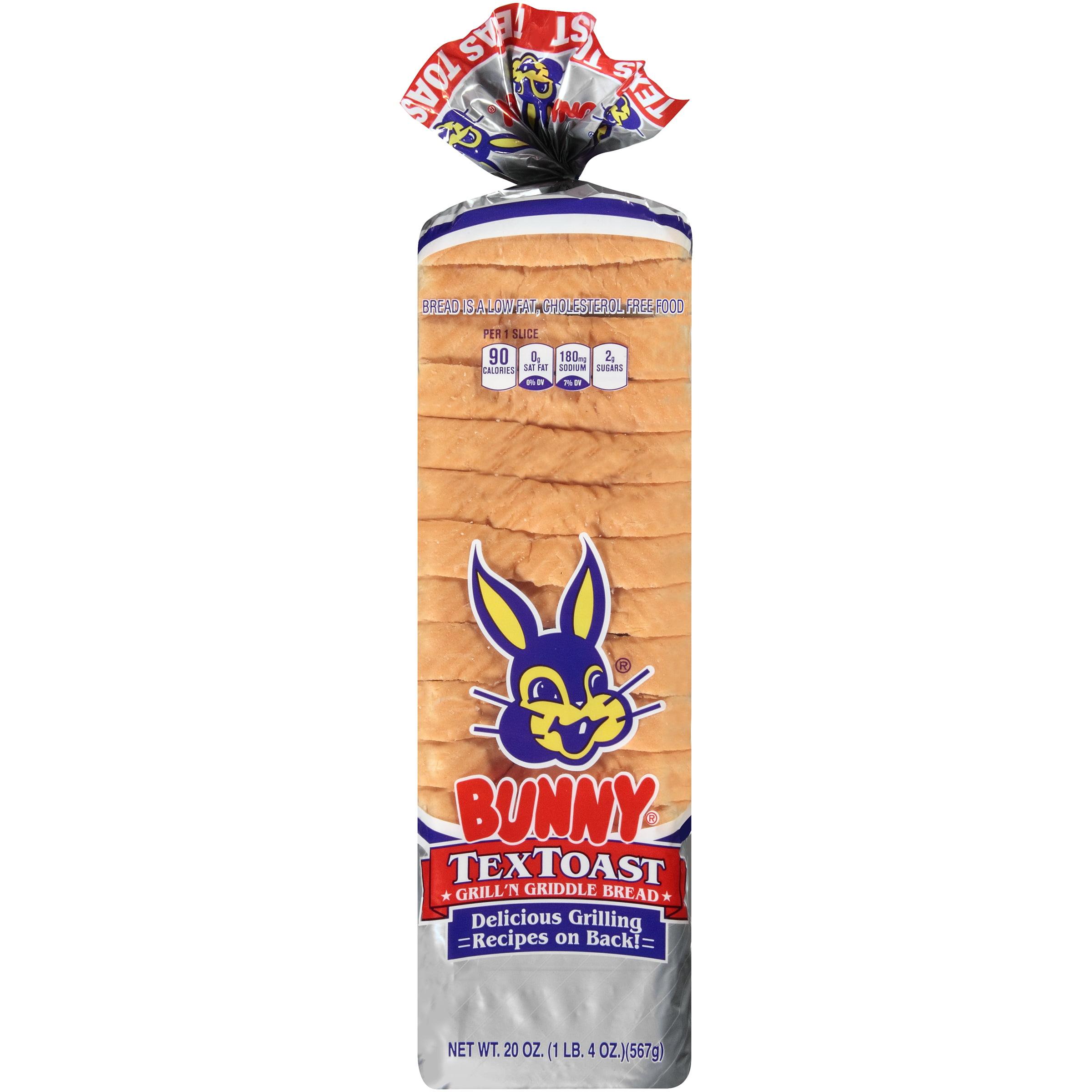 Bunny® TexToast Grill 'n Griddle Bread 20 oz. Loaf