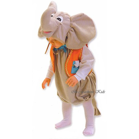 Baby Boy or Girls Halloween Costume - Infant Elephant Costume 6 to 18 month