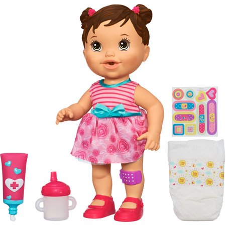Baby Alive Baby Gets A Boo Boo Doll Walmart Com