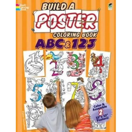 ABC & 123 Coloring Book