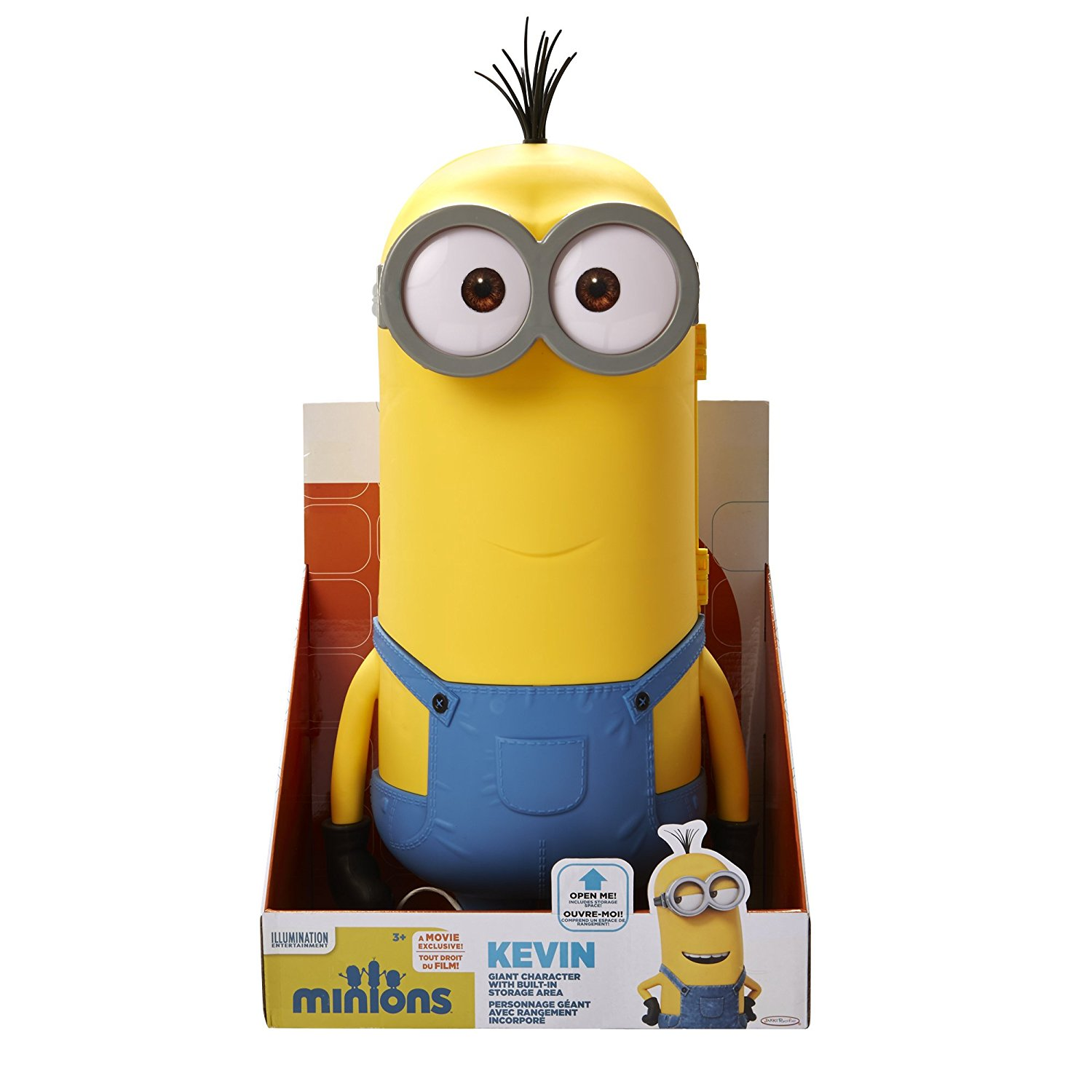"20"" Kevin Toy Figure, From the world of Despicable ME, your favorite Minion comes to life in GIANT scale... by"