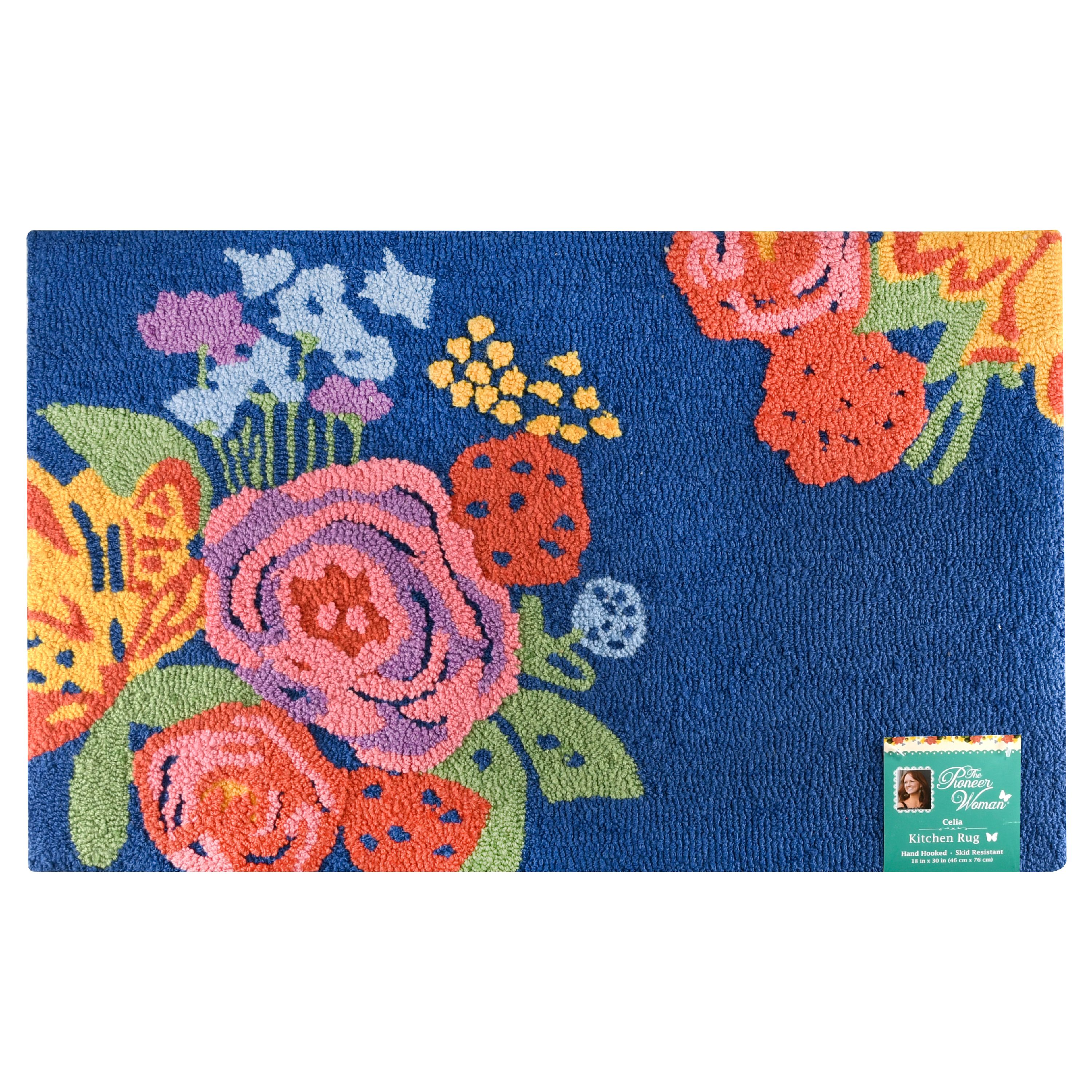 The Pioneer Woman Celia Rug 18x30 Walmart Com