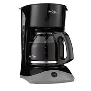 Mr. Coffee Simple Brew 12-Cup Switch Coffee Maker  Black
