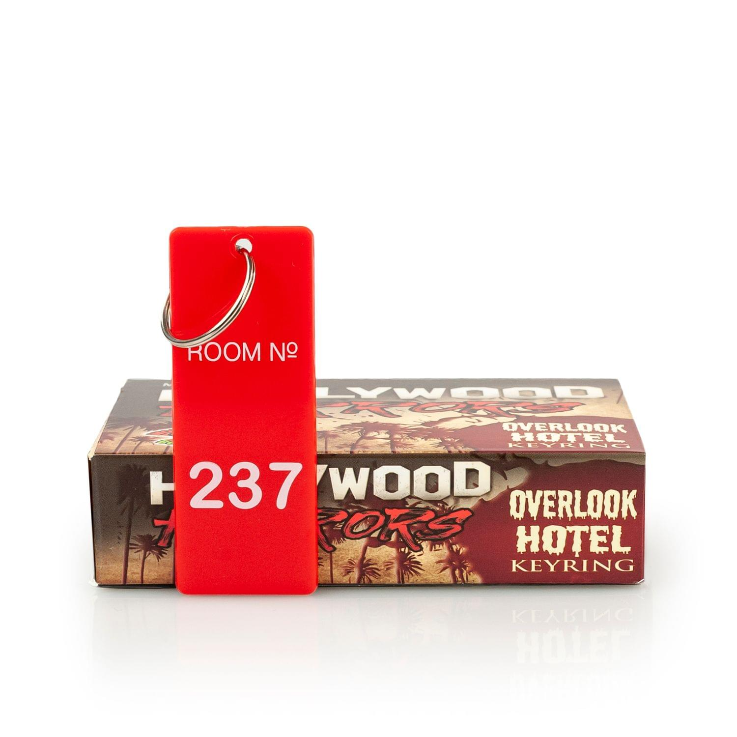 toynk The Overlook Hotel Room 237 Keychain Room Key Tag Replica from The Shining