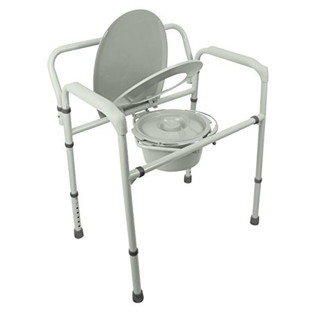 Bariatric Bedside Commode 3 In 1 Toilet Chair Extra