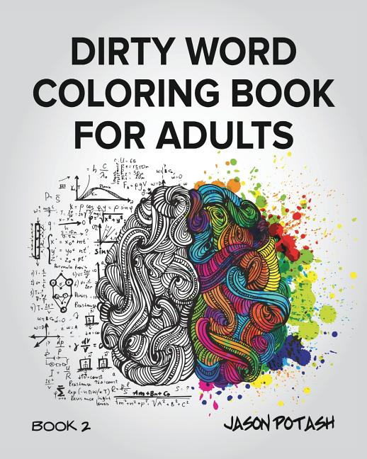Dirty Word Coloring Book For Adults - Vol. 2 (Paperback) - Walmart.com -  Walmart.com