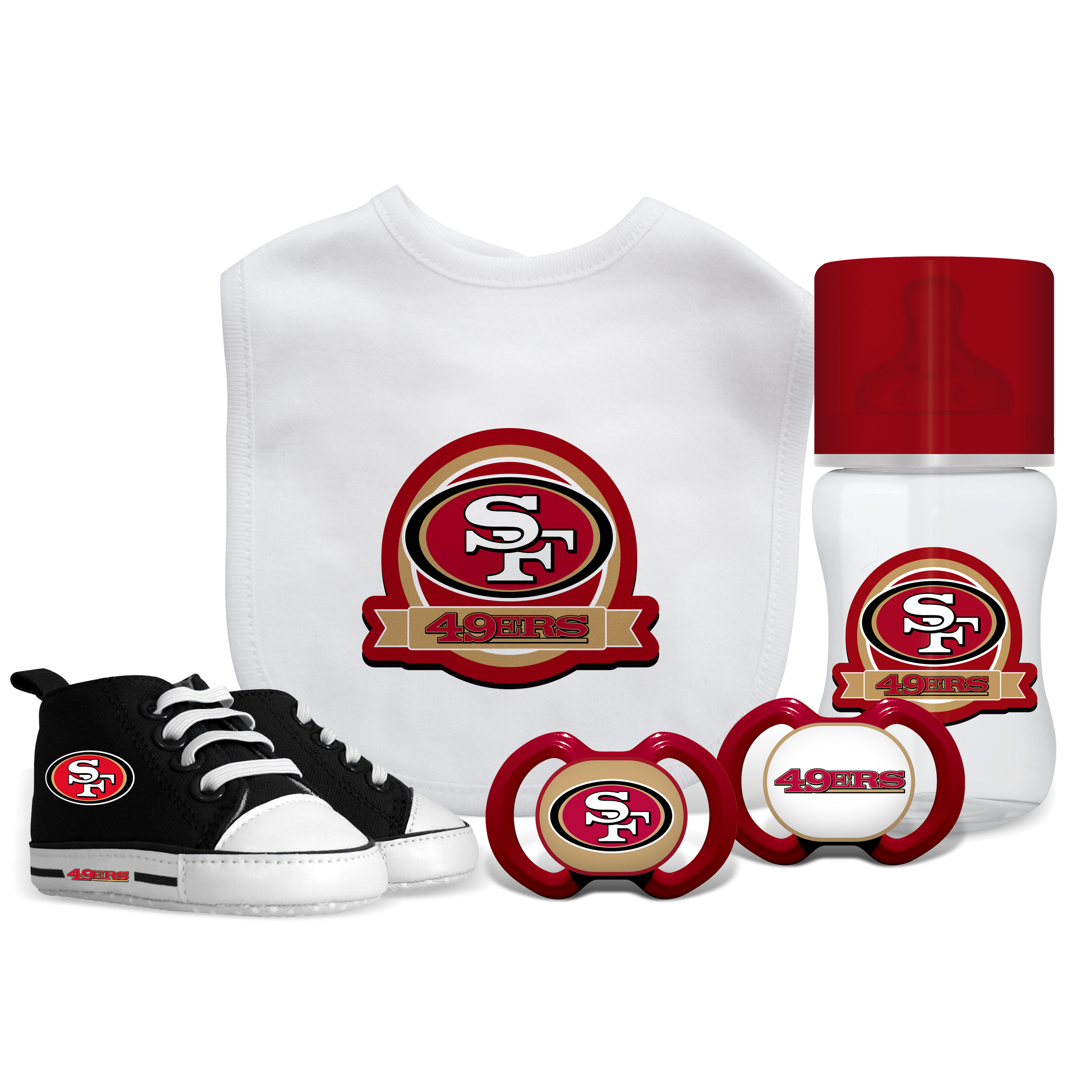 NFL San Francisco 49ers 5-Piece Baby Gift Set