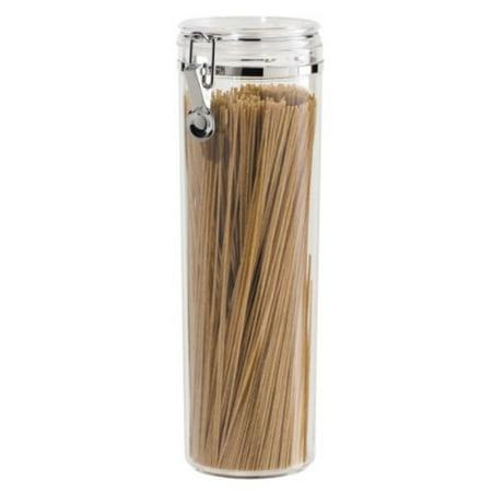 - NEW Oggi Acrylic Spaghetti Container Pasta Canister Airtight w/ Clamp 4