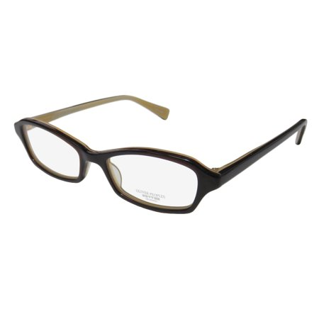 New Oliver Peoples Cylia Womens/Ladies Designer Full-Rim Dark Brown Prestigious Brand Adults Frame Demo Lenses 45-15-135 Eyeglasses/Eye