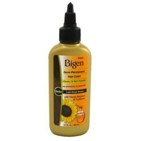 Bigen Semi Permanent Hair Color  Beb4 Light Beige Brown  3 Oz  Pack Of 3