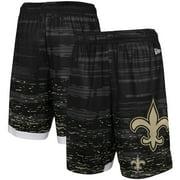 New Orleans Saints New Era Training Daze Shorts - Black