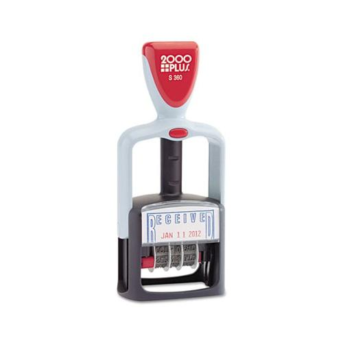 Cosco 2000 PLUS Two-Color Word Dater COS011034