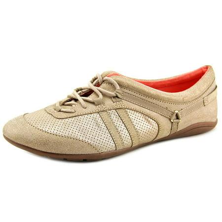Adrienne Vittadini Dizi Women Synthetic Gold Fashion Sneakers