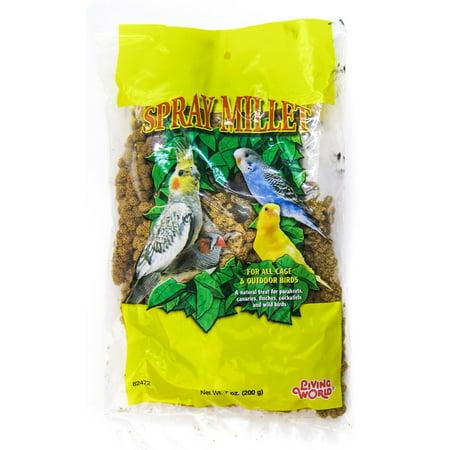 Hagen Living World Living World Spray Millet 7 oz Bag - 12
