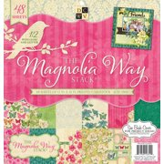 Diecuts With A View Magnolia Way Paper Stack, 48pk