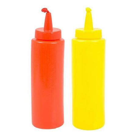 Squirting Combo Set  Mustard and Ketchup Bottles (Mustard Dispenser)