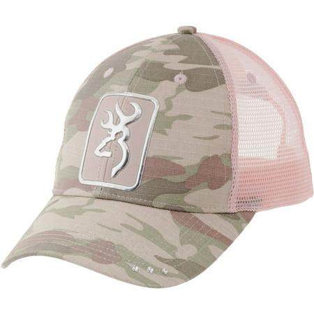 Browning Digby Cap, Camo/Light Pink ()
