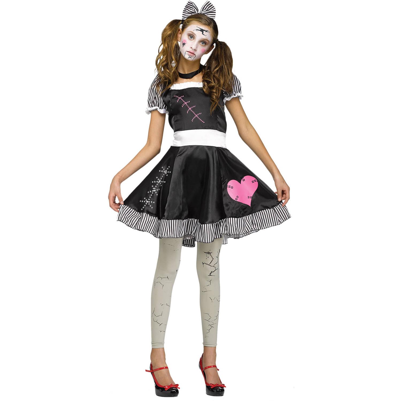 Broken Doll Teen Halloween Costume