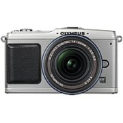 Olympus PEN E-P1 12.3 Megapixel Mirrorless Camera with Lens - (Refurbished)
