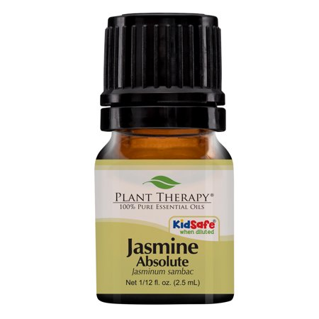- Plant Therapy Jasmine Absolute Essential Oil | 100% Pure, Undiluted, Natural Aromatherapy, Therapeutic Grade | 2.5 mL