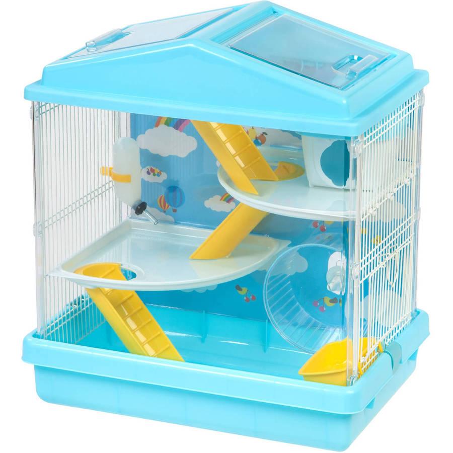 IRIS 2-Tier Hamster Cage, Blue by IRIS USA, Inc.