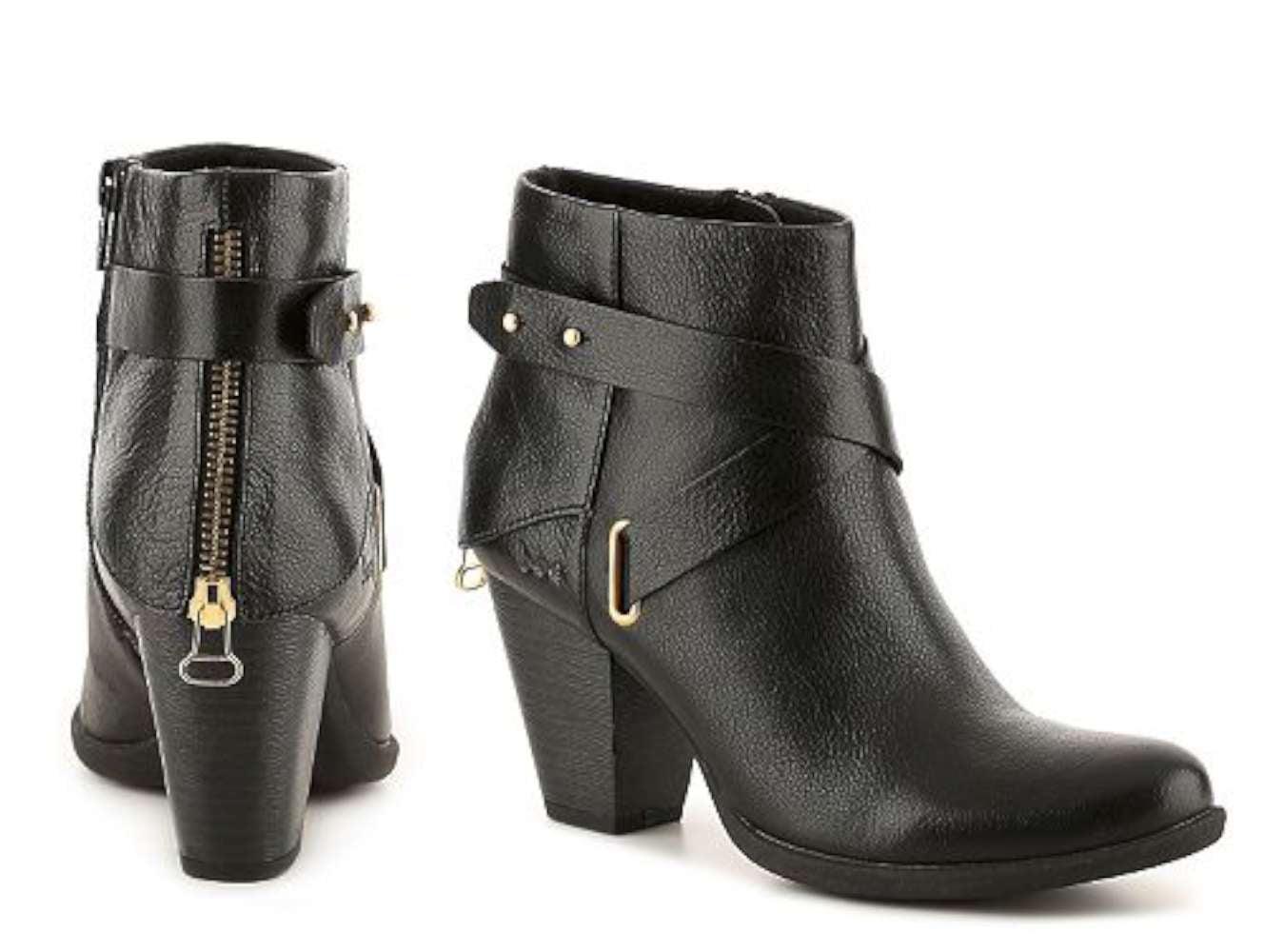 B.O.C Womens Richardson Leather Closed Toe Ankle Fashion Boots