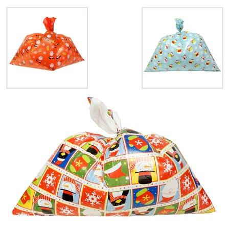 Giant Christmas Plastic Gift Bag for $<!---->