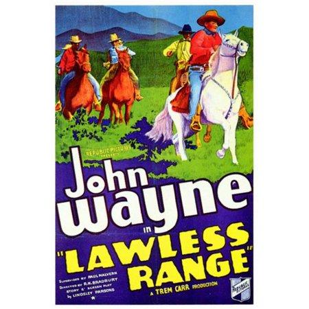 Posterazzi MOV200224 Lawless Range Movie Poster - 11 x 17 in. - image 1 de 1