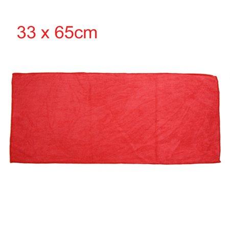 2pcs Violet Rouge Maison Voiture polissage nettoyage sèche-serviettes 33cmx65cm - image 3 de 5