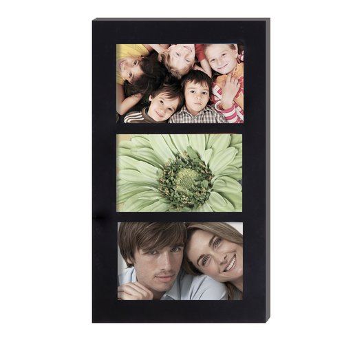 Adeco Trading 3 Opening Hanging Collage Picture Frame