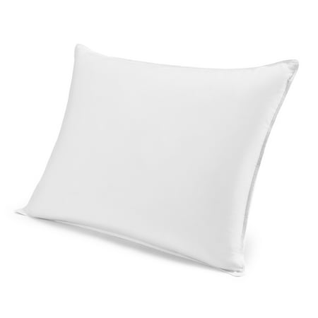 Mainstays Hypoallergenic 200 Thread Count Microfiber Pillow, Standard Size