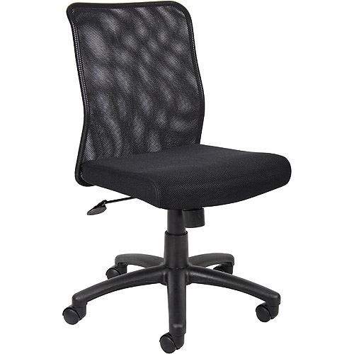 Boss Black Fabric Task Chair