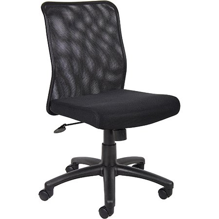 Boss Black Fabric Task Chair