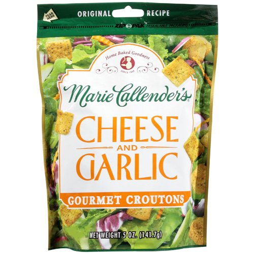 Marie Callender's Gourmet Cheese And Garlic Croutons, 5 oz
