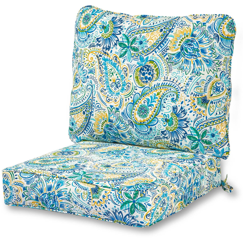Greendale Home Fashions Baltic Outdoor Deep Seat Cushion Set by Greendale Home Fashions