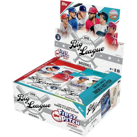 2018 Topps Big League Baseball Retail Display Box