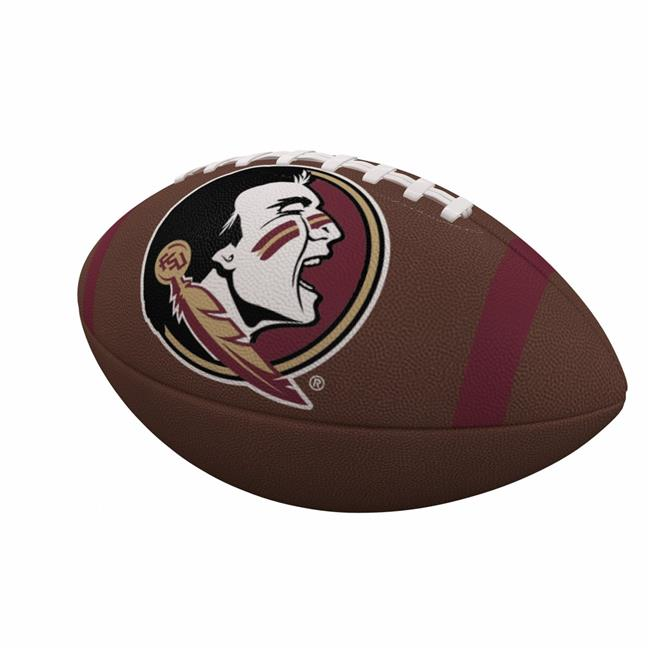 Florida State University Team Stripe Official-Size Composite Football