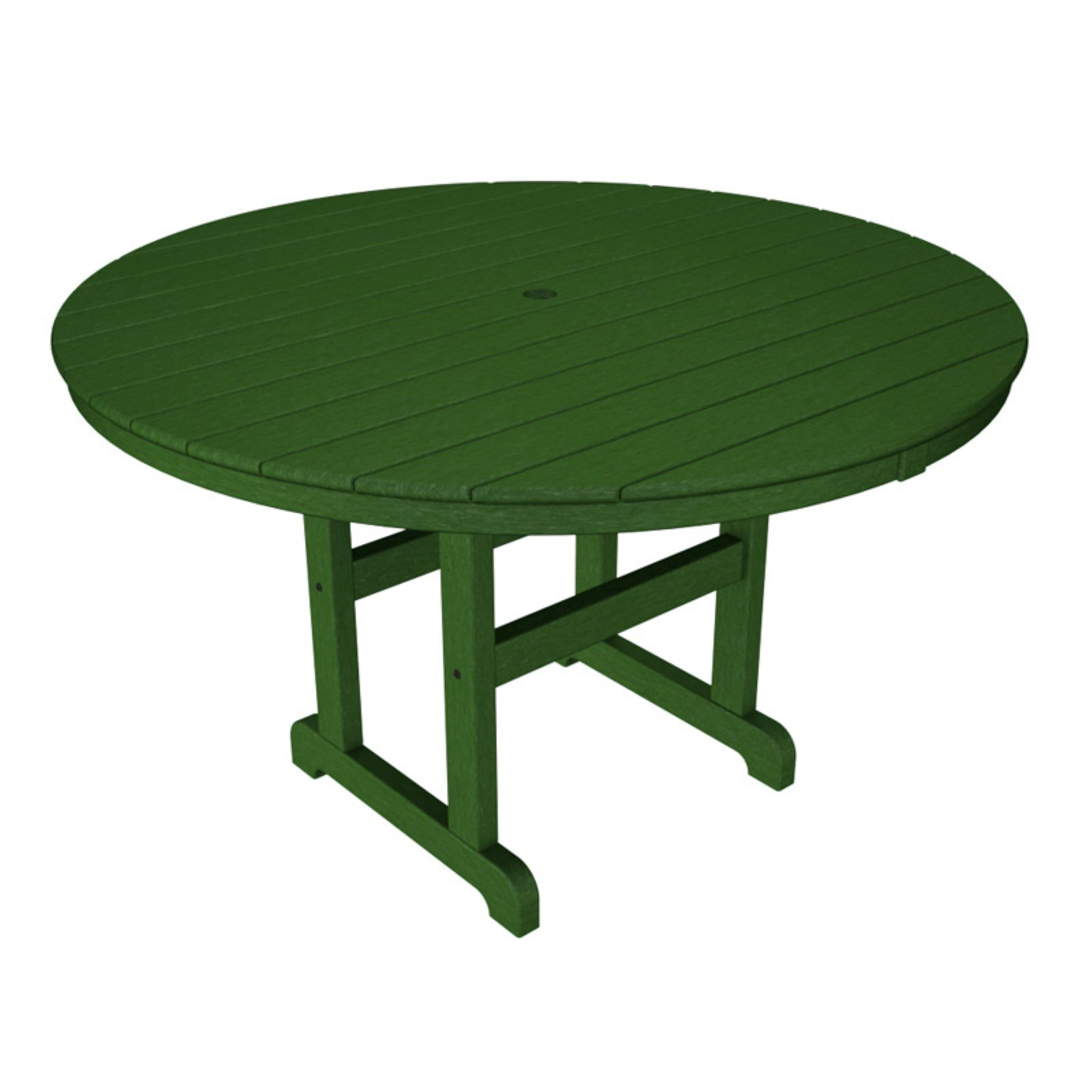 POLYWOOD® Recycled Plastic 48 in. Round Dining Table