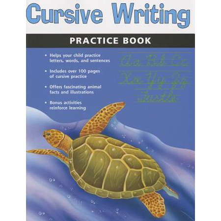 Cursive Writing Practice Book (Flash Kids Harcourt Family
