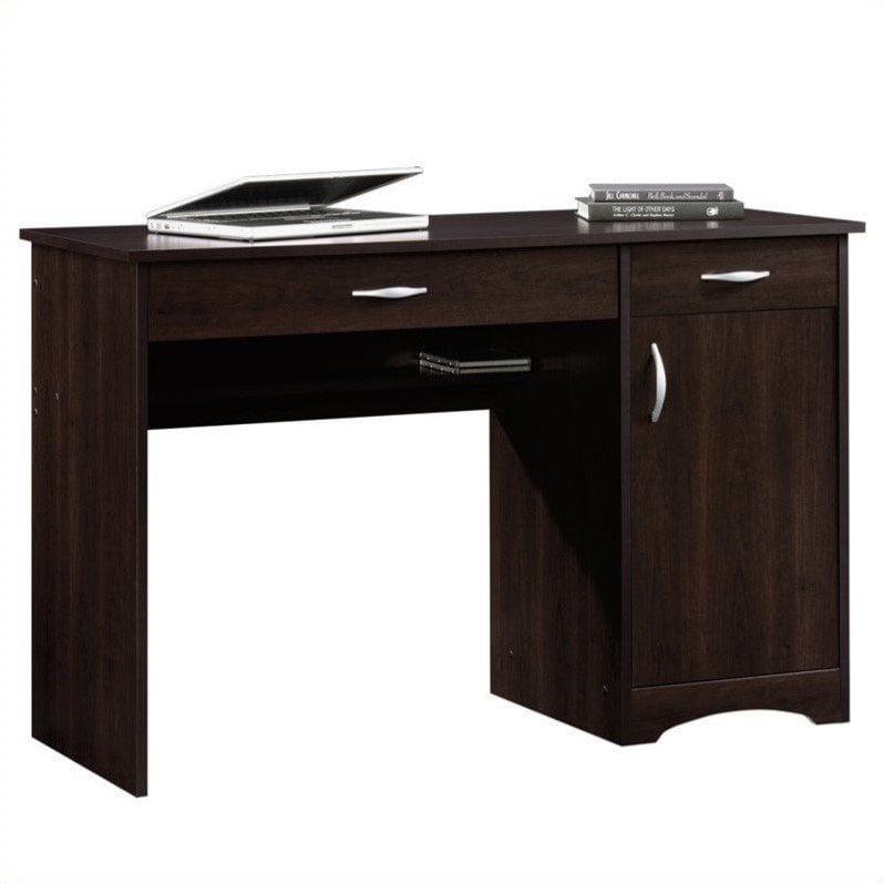 Sauder Beginnings Desk, Cinnamon Cherry