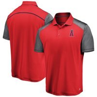 Men's Majestic Red/Gray Los Angeles Angels TX3 Cool Polo