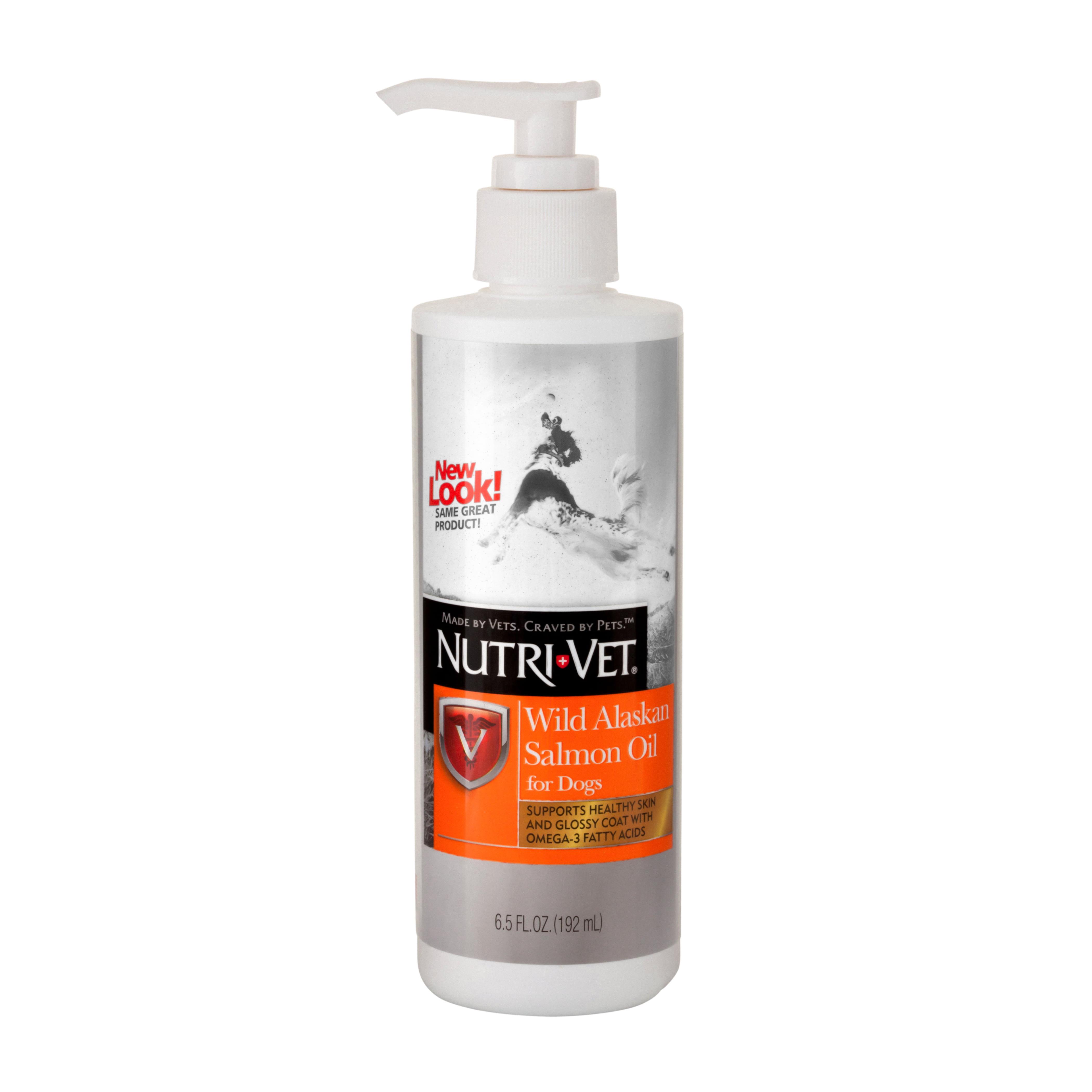 Nutri-Vet Wild Alaskan Salmon Oil 6.5oz