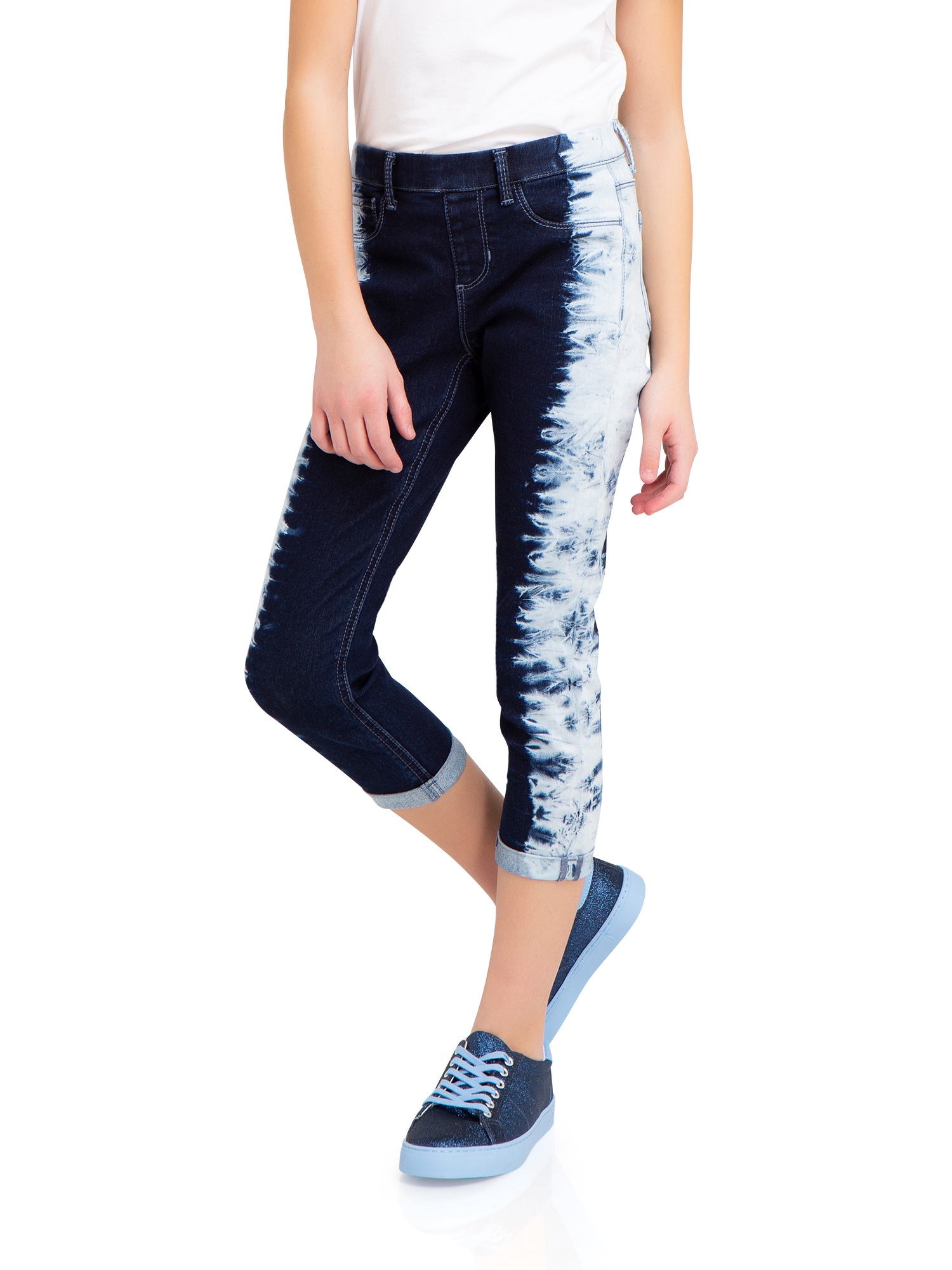 Printed Crop Jegging (Little Girls & Big Girls)