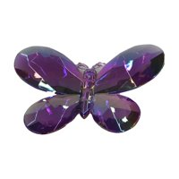 Holiday Time Butterfly Ornament, Purple