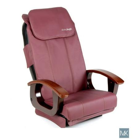 Shiatsulogic Pedicure Chair Cushion Cover BURGUNDY Massage Vibration Seat Back Pillow Cushion Upholstery