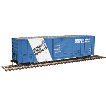 Atlas 20003907 Ho Savannah State Docks Railroad Fmc 5347 Single Door Boxcar  102